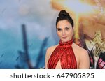 gal gadot at the los angeles... | Shutterstock . vector #647905825