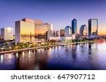 jacksonville  florida  usa... | Shutterstock . vector #647907712