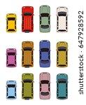 car illustration | Shutterstock . vector #647928592