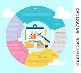report infographic | Shutterstock .eps vector #647931562