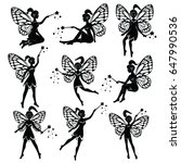 vector drawing of a fairy  elf   Shutterstock .eps vector #647990536