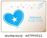 heart logo made from the flag...   Shutterstock .eps vector #647993512