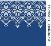 norway festive sweater fairisle ...   Shutterstock .eps vector #648001486