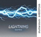 seamless asset of lightening... | Shutterstock .eps vector #648009166