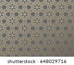 arabic girish seamless pattern. ...   Shutterstock .eps vector #648029716