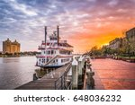savannah  georgia  usa... | Shutterstock . vector #648036232
