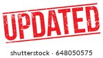updated stamp | Shutterstock .eps vector #648050575