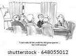 business cartoon about sales... | Shutterstock . vector #648055012