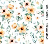 lovely seamless pattern with...   Shutterstock . vector #648060406