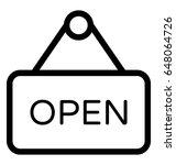 Open Vector Icon