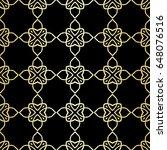 ornamental wallpaper  vector... | Shutterstock .eps vector #648076516