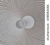 Small photo of Abstract background: overlapping circles