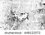 peeling paint rusting metal...   Shutterstock . vector #648122572