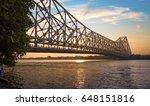 historic howrah bridge at...   Shutterstock . vector #648151816
