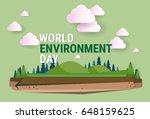 nature landscape world... | Shutterstock .eps vector #648159625