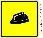 antique iron sign | Shutterstock .eps vector #648172876