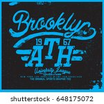 sport t shirt graphic | Shutterstock .eps vector #648175072