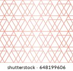 simple geometric pattern.... | Shutterstock .eps vector #648199606