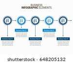 infographics template design | Shutterstock .eps vector #648205132