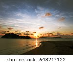 spectacular view of sea beach... | Shutterstock . vector #648212122