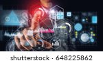 using innovative technologies | Shutterstock . vector #648225862