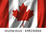 canadian flag | Shutterstock . vector #648236866