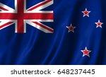 new zealand flag | Shutterstock . vector #648237445