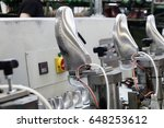 machines and equipment of the... | Shutterstock . vector #648253612