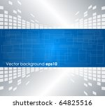 abstract technology background | Shutterstock .eps vector #64825516