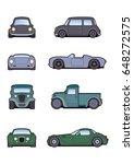 car illustration | Shutterstock . vector #648272575
