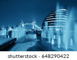 london tower bridge  city hall... | Shutterstock . vector #648290422