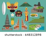 indonesia illustration  bali...