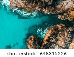 aerial view of rock formations... | Shutterstock . vector #648315226