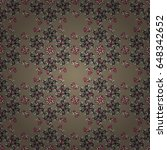 vector architectural muslim... | Shutterstock .eps vector #648342652