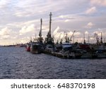 klaipeda  lithuania   march 23  ... | Shutterstock . vector #648370198