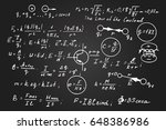 physics  electronic engineering ... | Shutterstock .eps vector #648386986