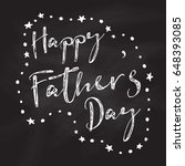father's day background with... | Shutterstock .eps vector #648393085
