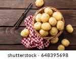 potato   Shutterstock . vector #648395698