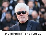pedro almodovar attends the... | Shutterstock . vector #648418522