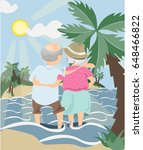 love of my grandparents | Shutterstock .eps vector #648466822