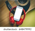back screen of smartphone and...   Shutterstock . vector #648479992