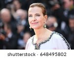 carole bouquet attends the... | Shutterstock . vector #648495802