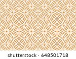 simple geometric decorative... | Shutterstock .eps vector #648501718
