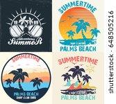 summer time   vector...   Shutterstock .eps vector #648505216