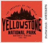 vintage vector of wilderness...   Shutterstock .eps vector #648506896