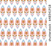 abstract colorful pattern on... | Shutterstock .eps vector #648541918