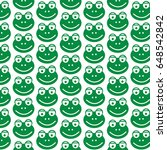 pattern background frog icon | Shutterstock .eps vector #648542842