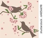 springtime vector illustration  ... | Shutterstock .eps vector #64856698