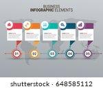 modern infographic timeline... | Shutterstock .eps vector #648585112