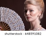 Woman In Vintage Victorian...